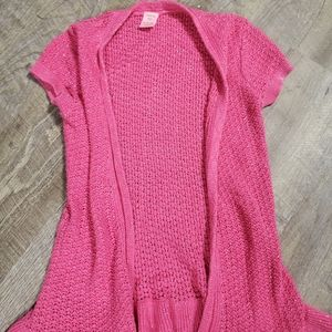 Copper Key pink short sleeve sweater